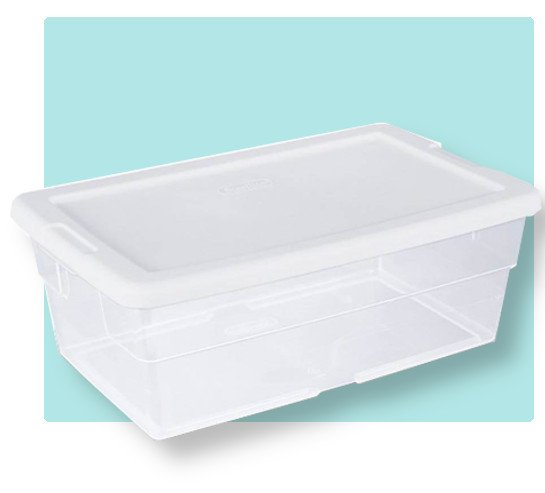 a 6 quart shoe organizer