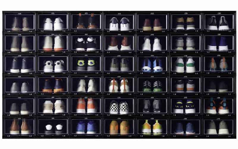 front open shoe storage boxes