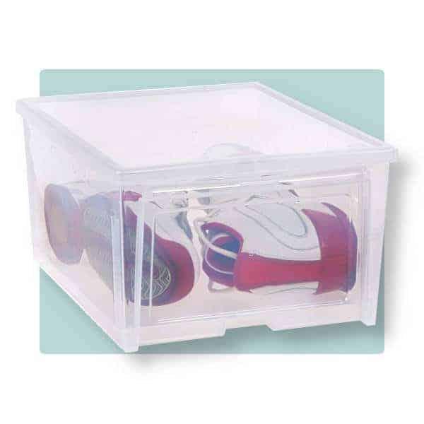 Iris shoe storage