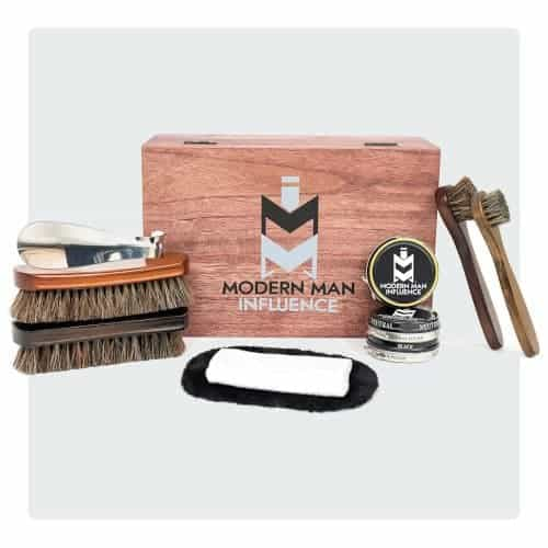 Great shoe shine valet kit