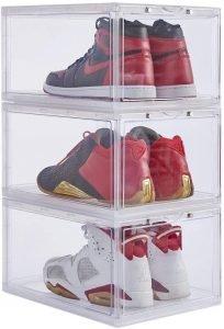 clear acrylic sneaker bins