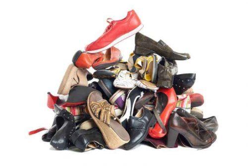 plastic shoe boxes